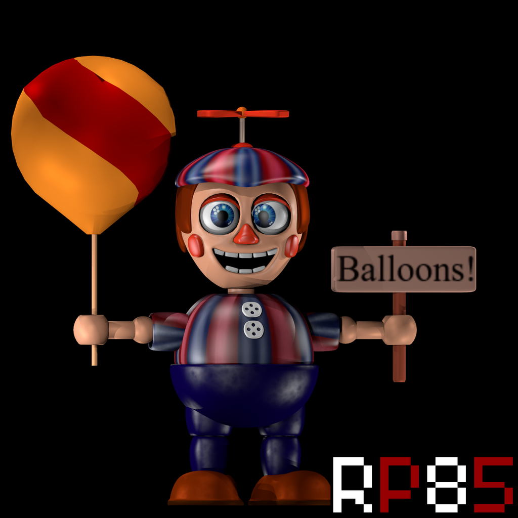 Balloon boy v2 by w3irdr3d on deviantart