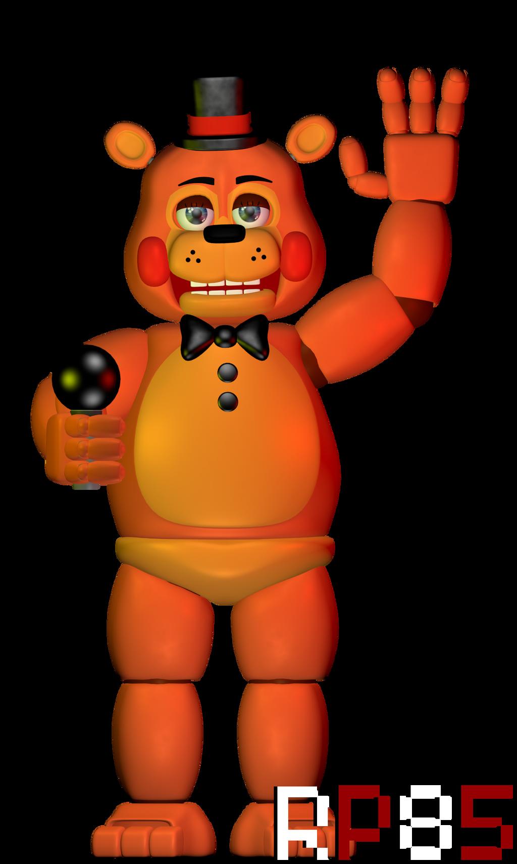 Fnaf 2 Toy Freddy Toy Freddy by W3IRDR3D...