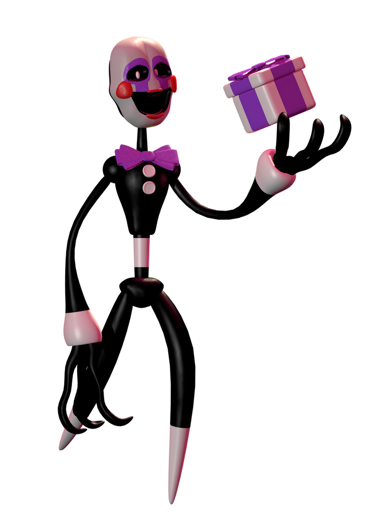 Stylistic Puppet model by W3IRDR3D