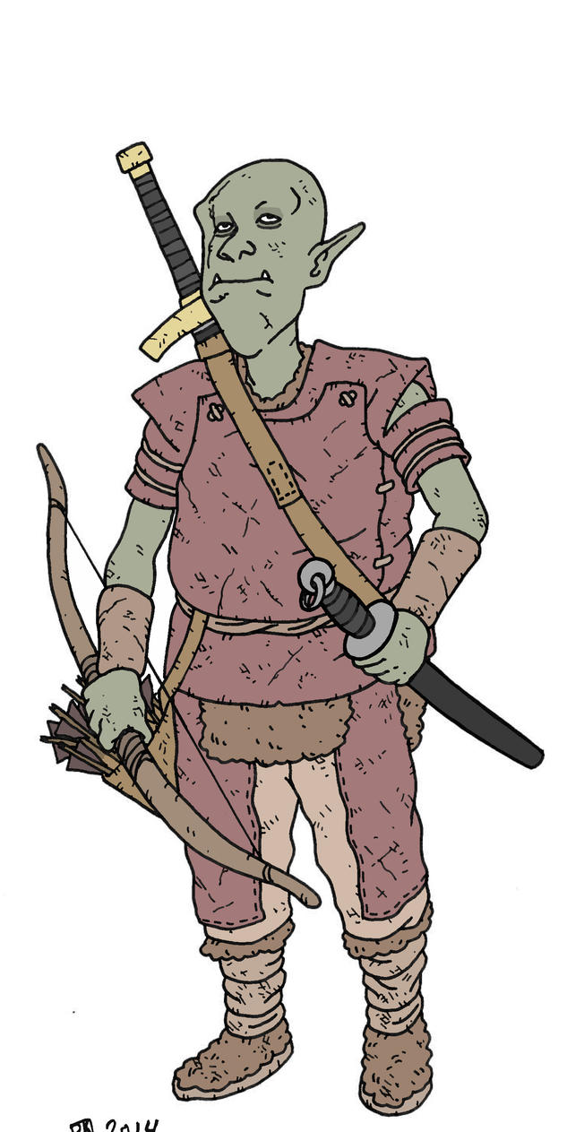 Orc Ranger by pfendino