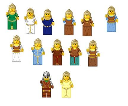 Eowyn Legos by EvaneyReddeman