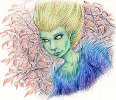 Green Lady by EvaneyReddeman