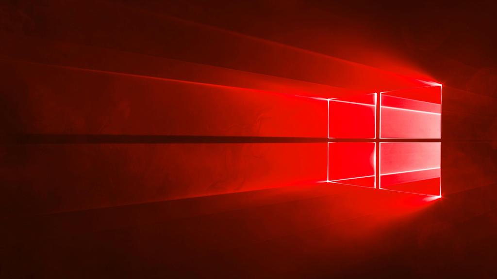Windows 10 Hero Wallpaper Red By Officerwindowsmac200 On Deviantart
