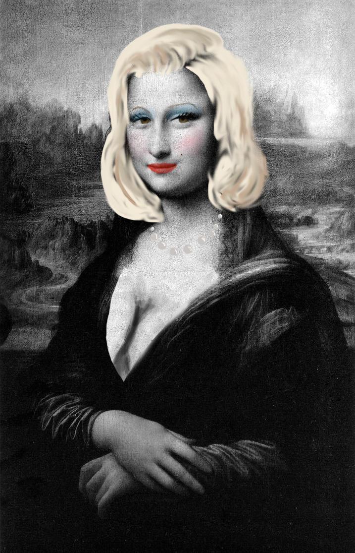 Mona Lisa turns into M...