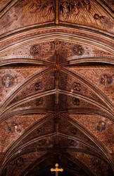 Worcester Cathedral Historic Ceiling [2] by Razz94