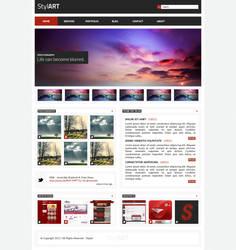StylART | Module Portfolio Theme by Razz94