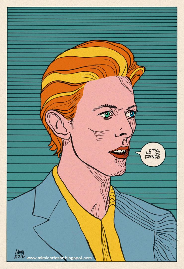David Bowie by MimiCortazar