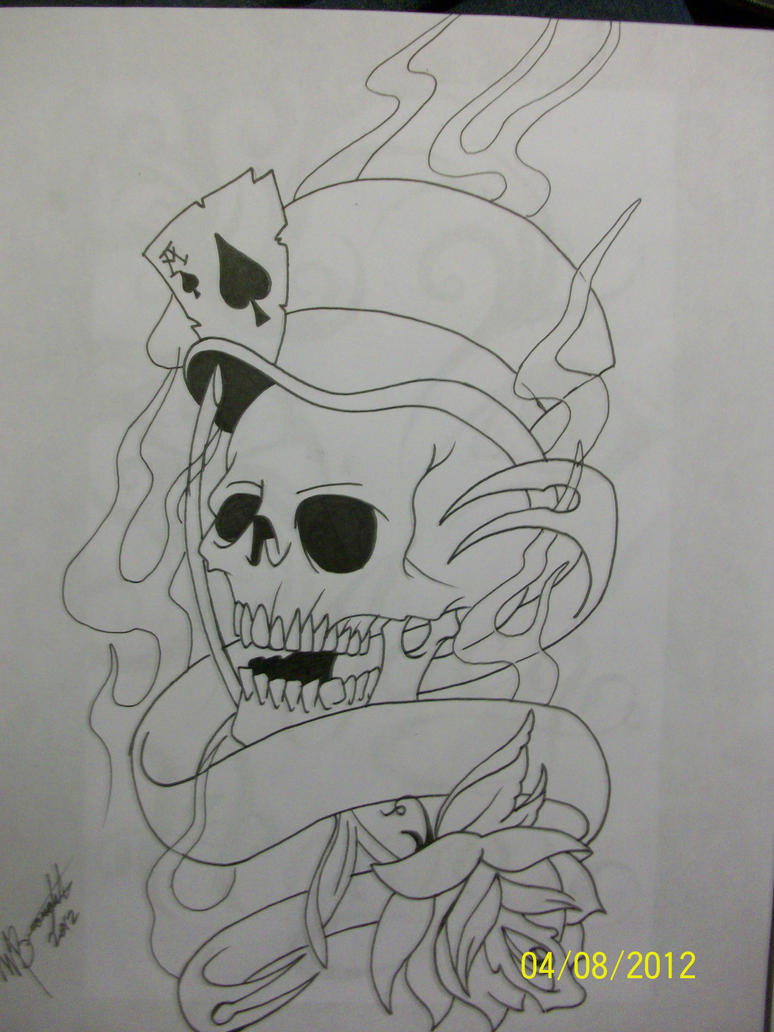 Tattoo Machine Line Drawing : New skool style line drawing by unveilingpants on deviantart