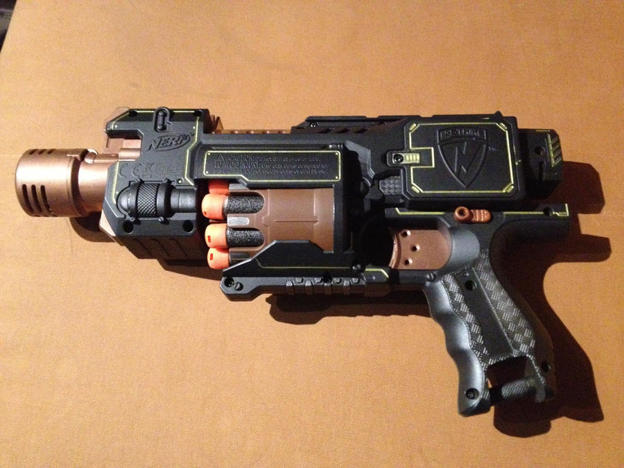 Steampunk-Nerf by Metallinger