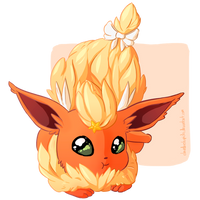 Flareon Star Guardian by WinterShibe