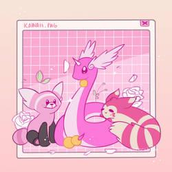 Pink cuties