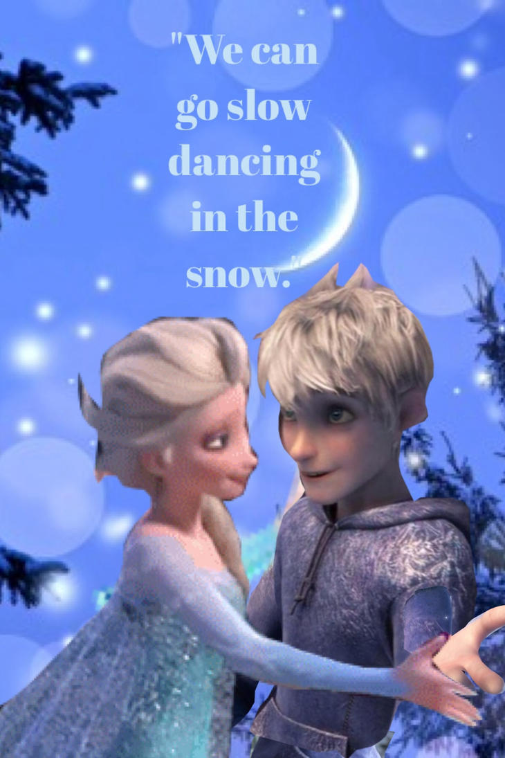 Jelsa Slow Dancing In The Snow Song Video By Pixietira
