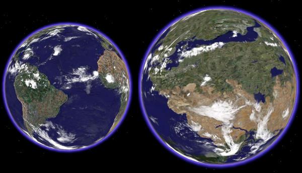 gliese 581g to earth comparison - photo #2