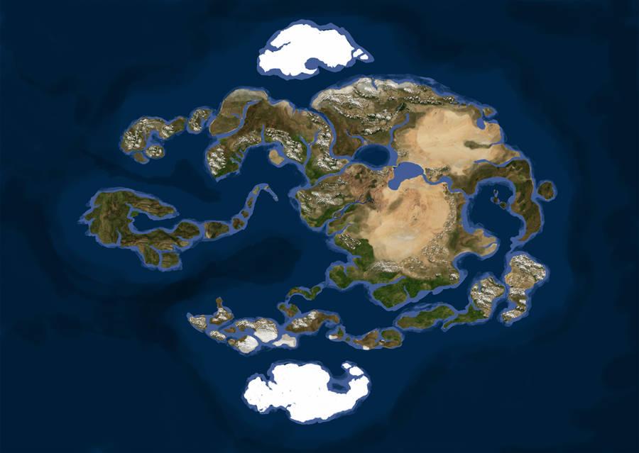 Realistic Avatar World Map By Gyorg1000 On Deviantart