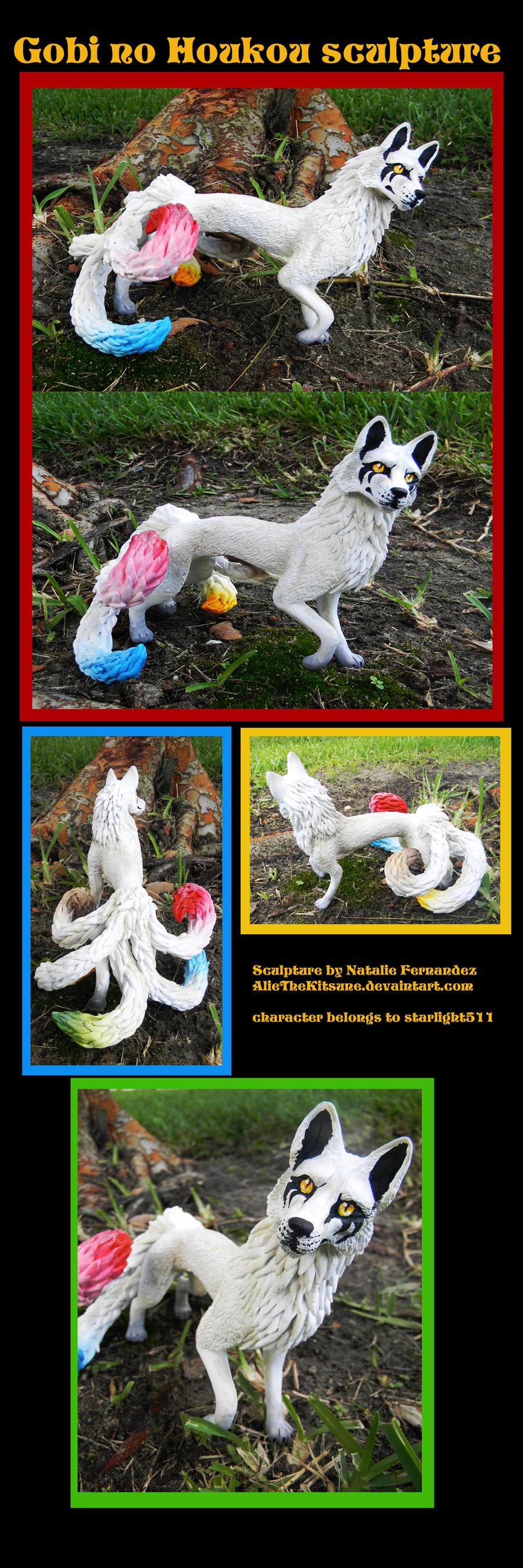Gobi no Houkou sculpture by AlieTheKitsune on deviantART Gobi No Houkou