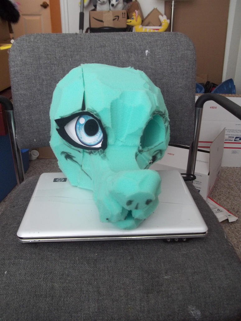 how to make a foam head
