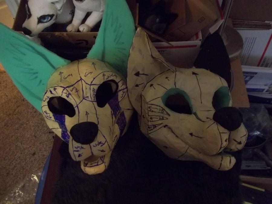 fursuit commissions WIP by AlieTheKitsune