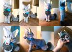 Grey Fox Plushie SOLD
