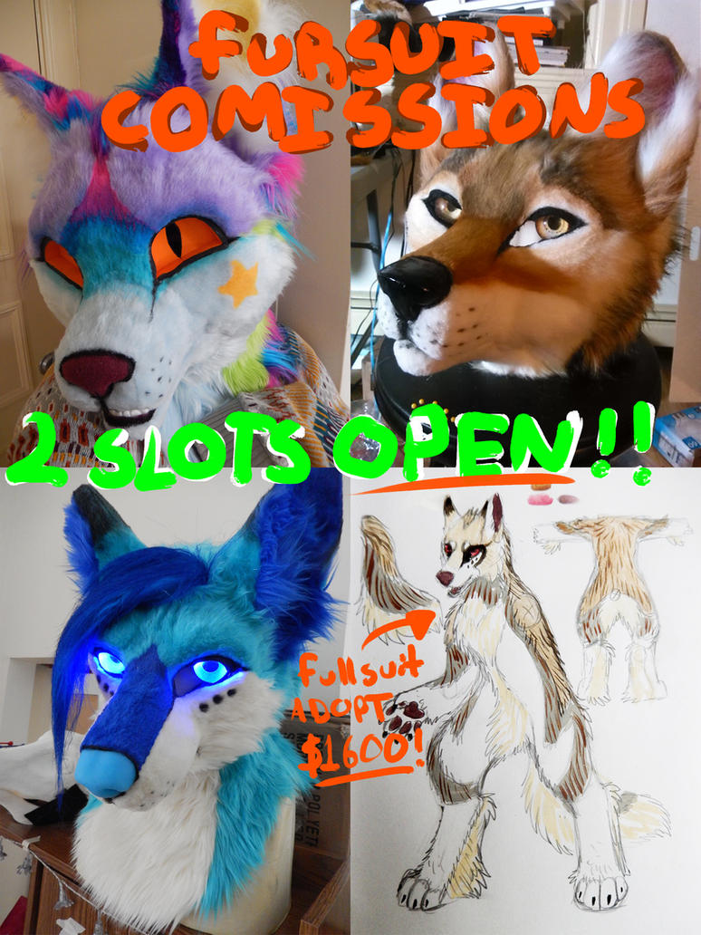 2 Commission slots open! by AlieTheKitsune