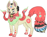 Kitsune doll Adopt CLOSED