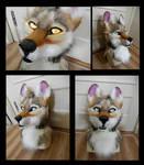 jackal fursuit head