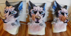 Husky Fursuit Head FOR SALE
