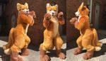 Golden Kitsune full suit