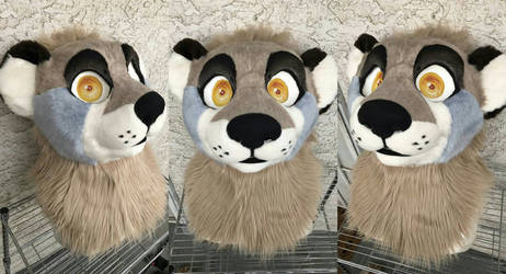 Otter Head FOR SALE by AlieTheKitsune