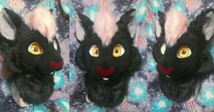 Burlois Cat Fursuit Head