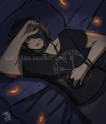 dreaming alone by Sai-shou