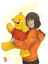 My silly old Winnie the Pooh by Sai-shou
