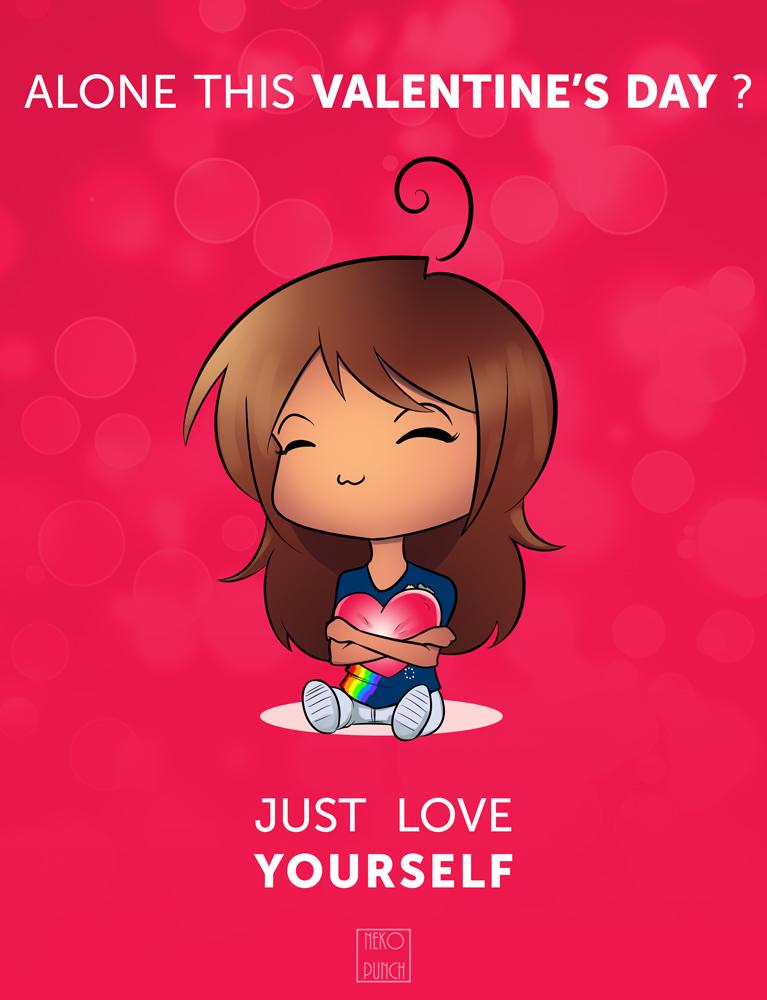 Single's Valentine by x-Nekopunch-x