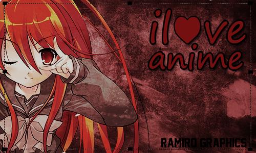 Wallpaper De I Love Anime Hd By Ramirodesing10 On Deviantart
