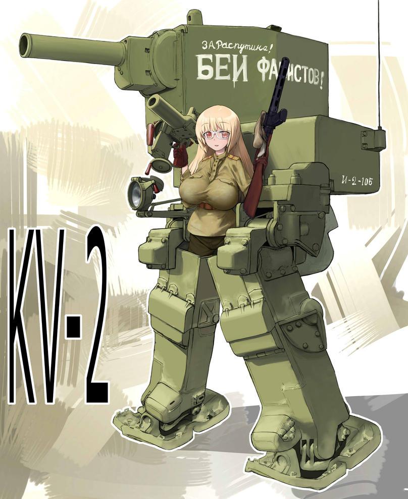 KV-2 Style Battle Armor by QU-RO-QURO
