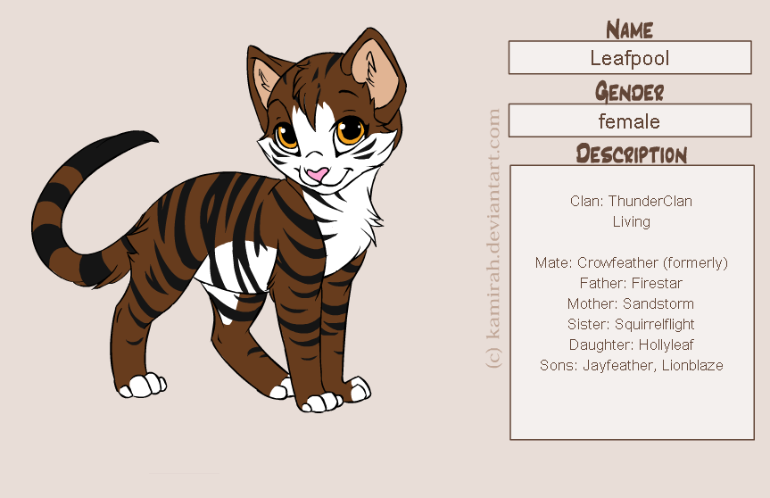warrior cats maker
