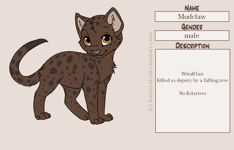 warrior cats coloring pages spottedleaf - photo#37