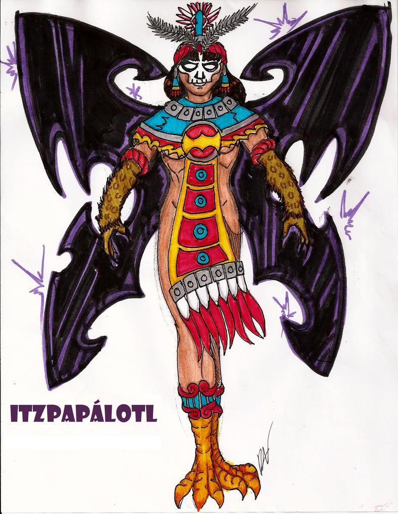 The 100 Itzpapalotl By RODMAN75 On DeviantArt