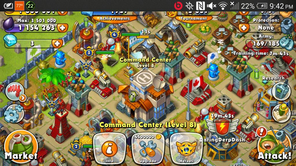 Jungle Heat My Command Center Lvl By Commander Hurcane Rd On Deviantart