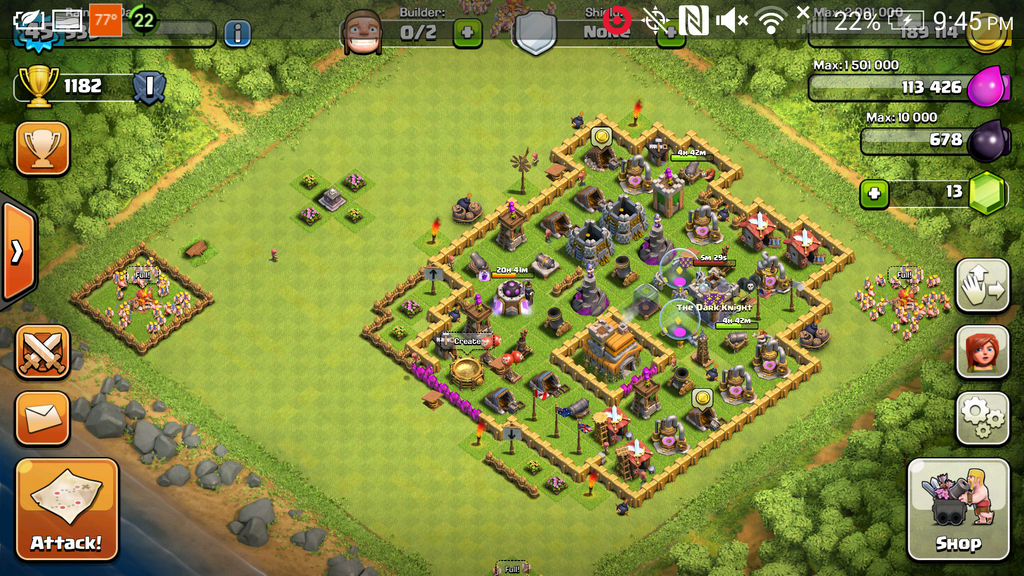 clash of clans level 7 bases