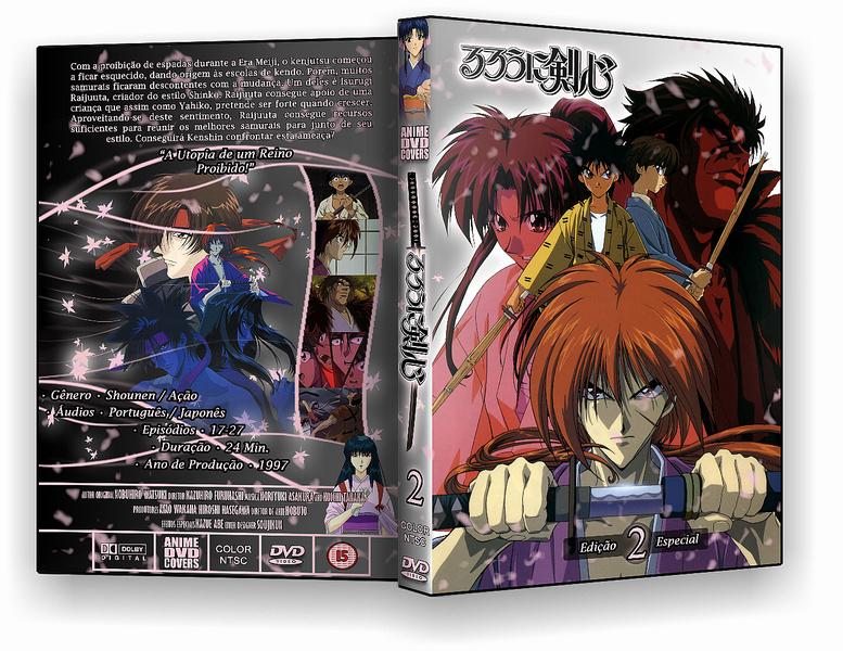 Rurouni Kenshin - DVD Cover 02 by soujikun on DeviantArt