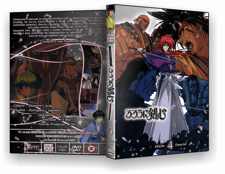 Rurouni Kenshin - DVD Cover 04 by soujikun on DeviantArt