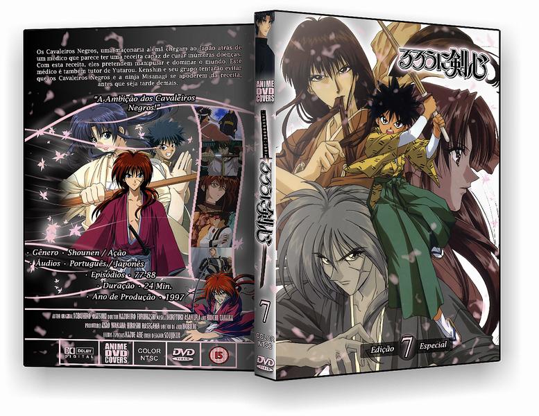 Rurouni Kenshin - DVD Cover 07 by soujikun on DeviantArt