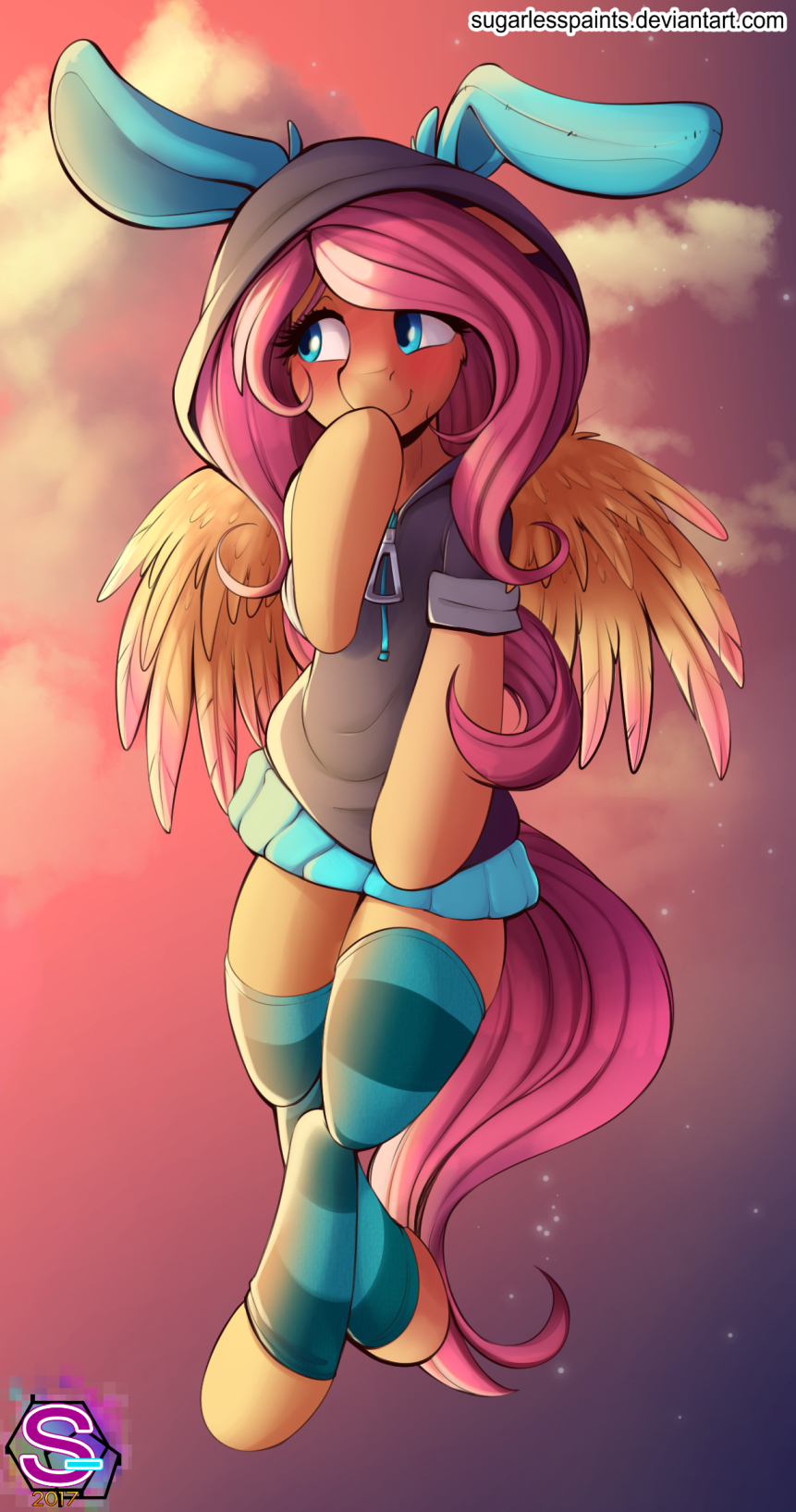 Flutters by SugarlessPaints