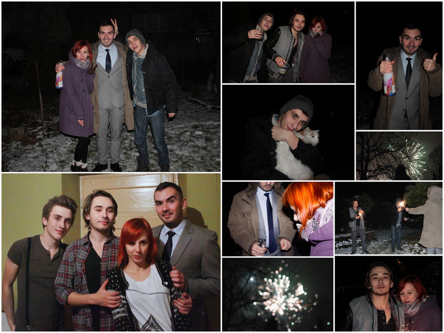our New Year's Eve photos, by panna-poziomka