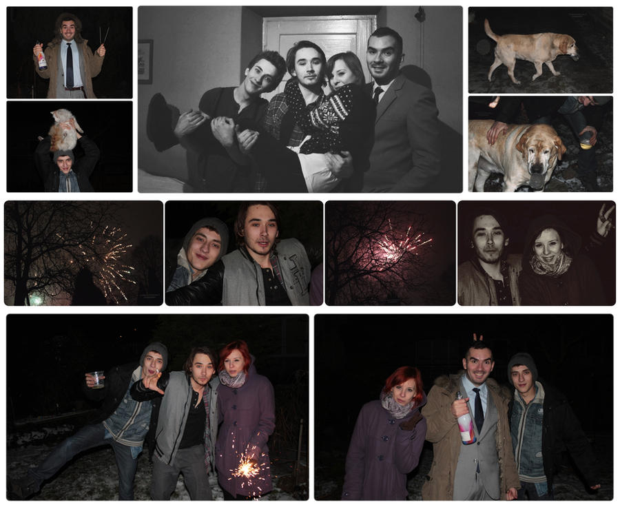our New Year's Eve photo by panna-poziomka