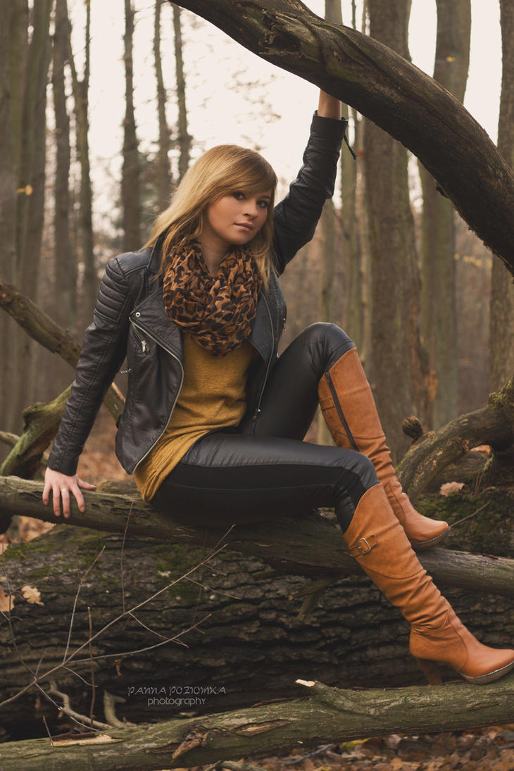 #JesiennyPlenerZGF ~ Ania 02 by panna-poziomka