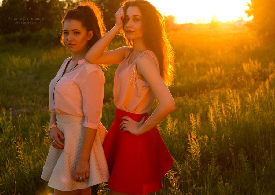ZGF's photoshoot at sunset 2 by panna-poziomka