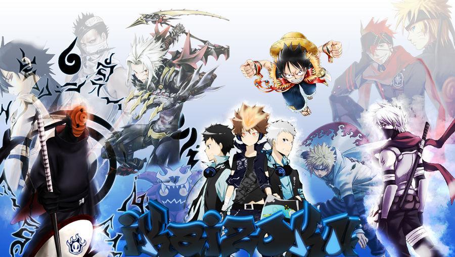 Anime Mix Wallpaper By Ikaizoku