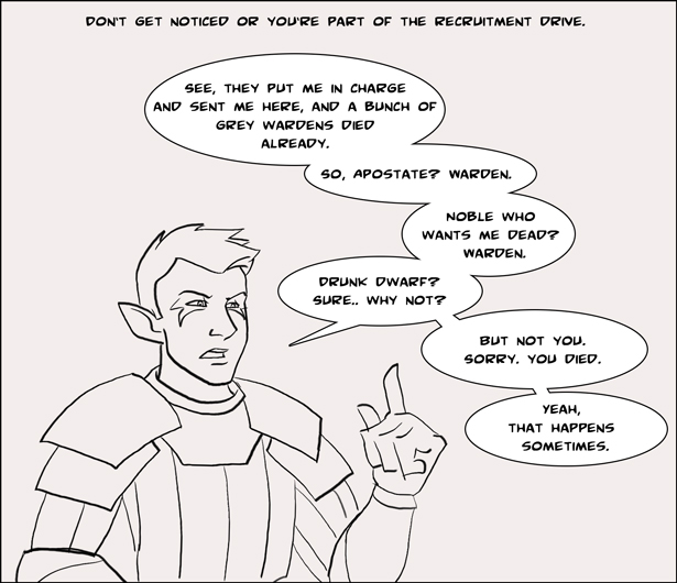 Dragon Age: Recruitment by Squeakyrat