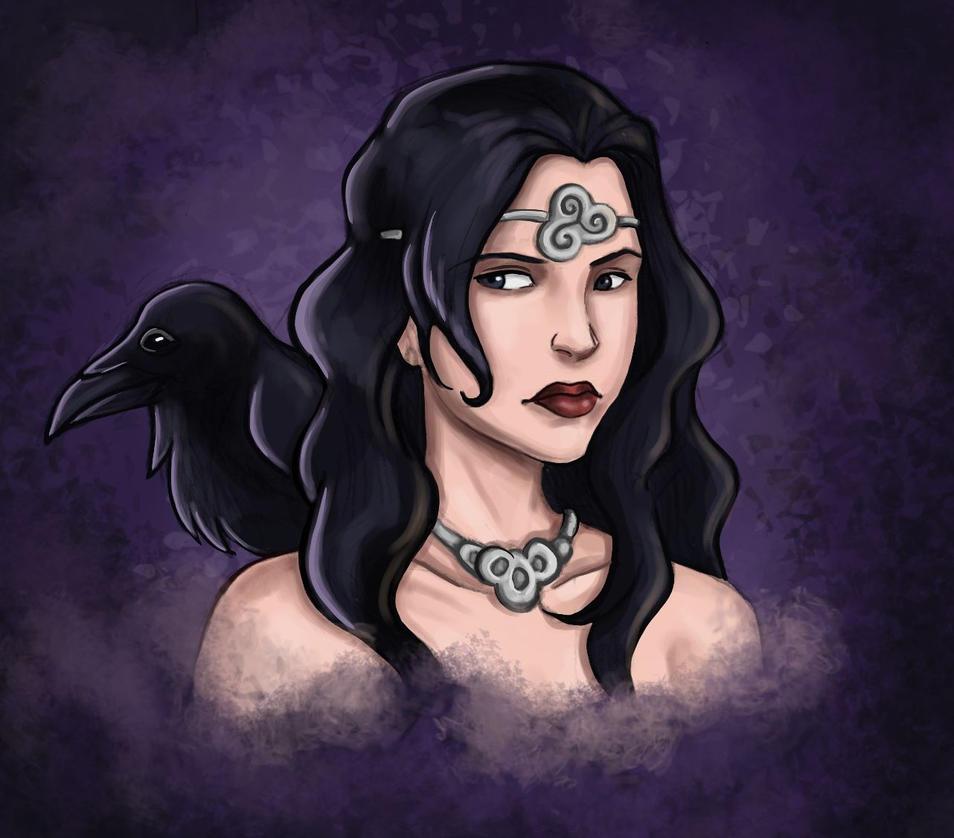 Ravens by Squeakyrat